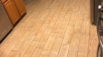 Floor Tiling Breakfast Room, Kitchen & Laundry Room