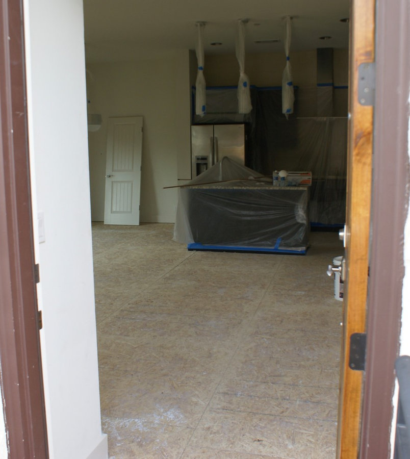Flooring and paint