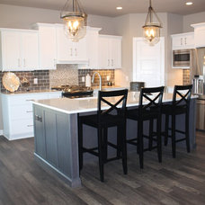 Transitional Kitchen by Coyle Carpet One Floor & Home