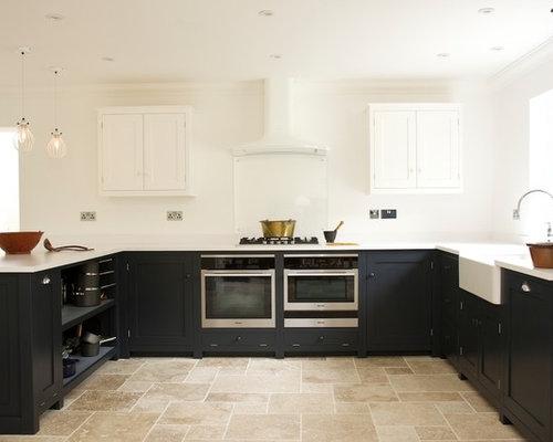 Travertine Kitchen Floor | Houzz