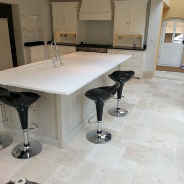 Floors of Stone || Finished Kitchen Projects