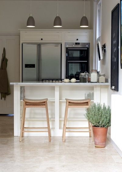 Contemporary Kitchen by Floors of Stone