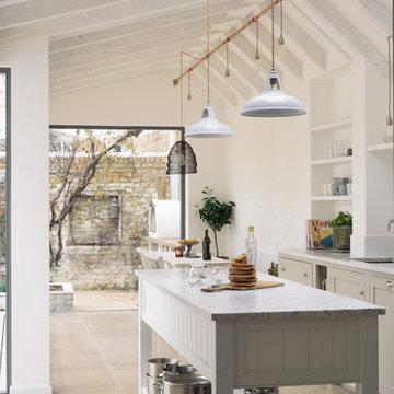 Floors of Stone with deVOL Kitchens