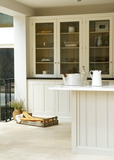 Eclectic Kitchen by Floors of Stone
