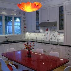 Contemporary Kitchen by Thomas Deir Studios