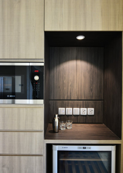 Contemporary Kitchen by Metamorphic