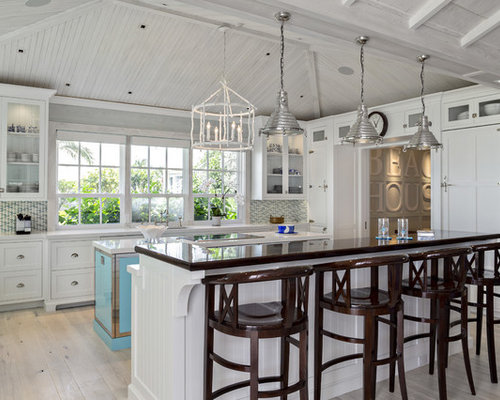Florida beach cottage for Beach house kitchen plans