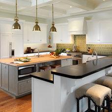 Traditional Kitchen by Rebecca C Brandon, ASID