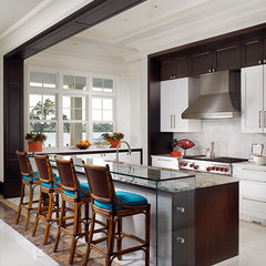 contemporary kitchen by John David Edison Interior Design Inc.