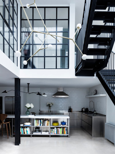 Industrial Kitchen by Paper House Project