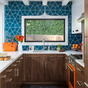Floyd Terrace Mid Century Remodel by Kelly Martin Interiors