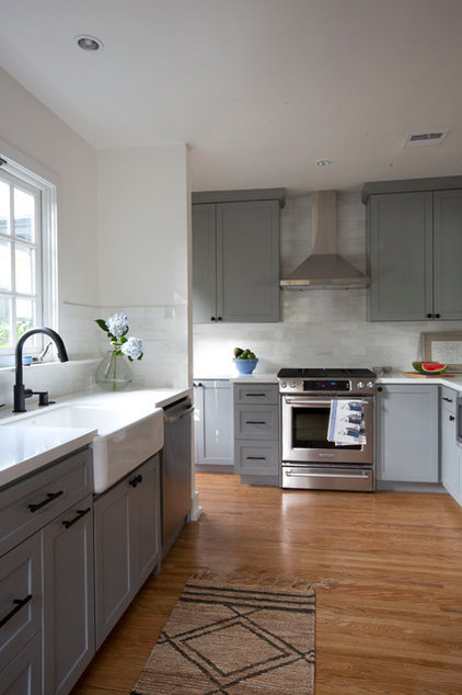 Traditional Kitchen by Landmark Building Inc