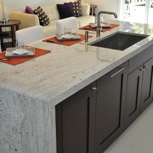 Minimalist kitchen photo in Sacramento