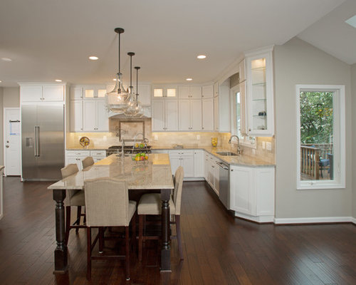 Gorgeous Kitchen Renovation In Potomac Maryland: Focal Point Of Family Gatherings, A Great Kitchen Remodel