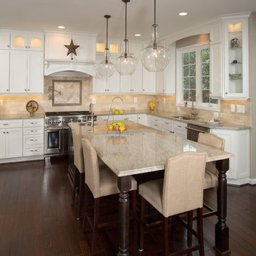 Focal Point of Family Gatherings, a Great Kitchen Remodel in Potomac Falls