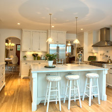 Traditional Kitchen by George Clemens Architecture, INC