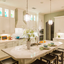 Transitional Kitchen by Clausen Residential