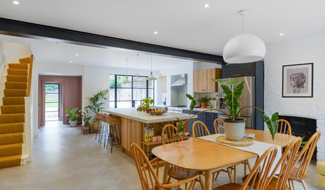 Kitchen Tour: An Unusual Worktop Was Key to Boosting a Dingy Room