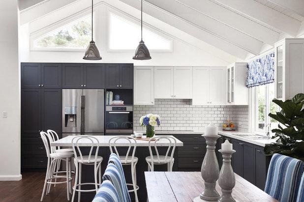 Beach Style Kitchen by Woods & Warner