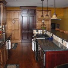 Traditional Kitchen by Kurtis Kitchen & Bath Centers