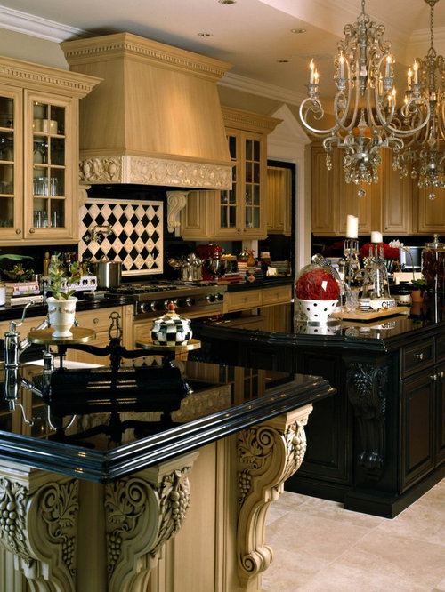Kitchen design ideas renovations photos with onyx for Black onyx kitchen cabinets