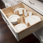 Wood Classics Pull-Out Waste Container - Houston - by Cornerstone - A Division of Richelieu
