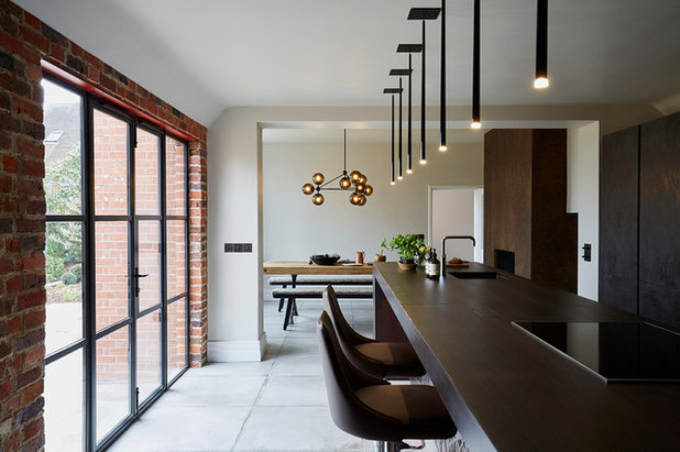 Industrial Kitchen by Cherie Lee Interiors