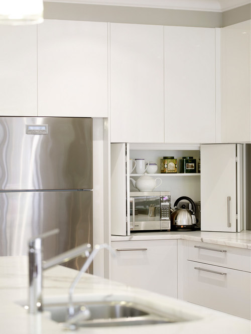 Toaster Oven In A Cupboard Houzz
