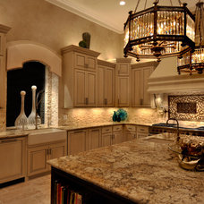 Transitional Kitchen by The Design Firm