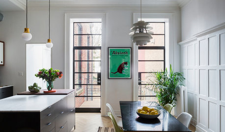 Houzz Tour: A Brooklyn Brownstone Blends History and Modern Style