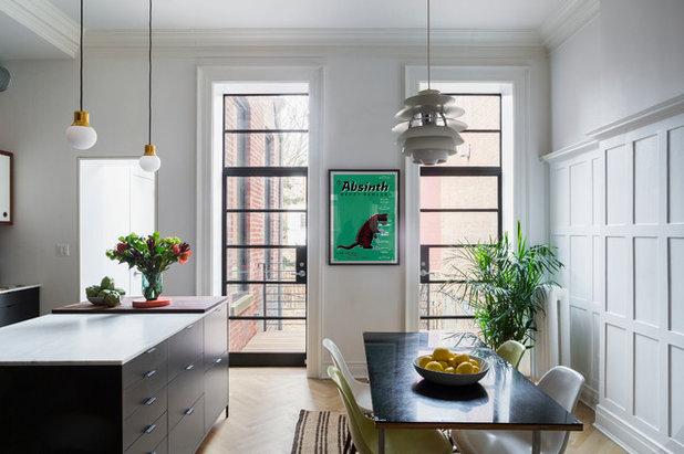 Contemporary Kitchen by Kate Glicksberg Photography