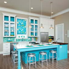 Beach Style Kitchen by Greg Riegler Photography