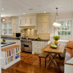 traditional kitchen by Village Handcrafted Cabinetry