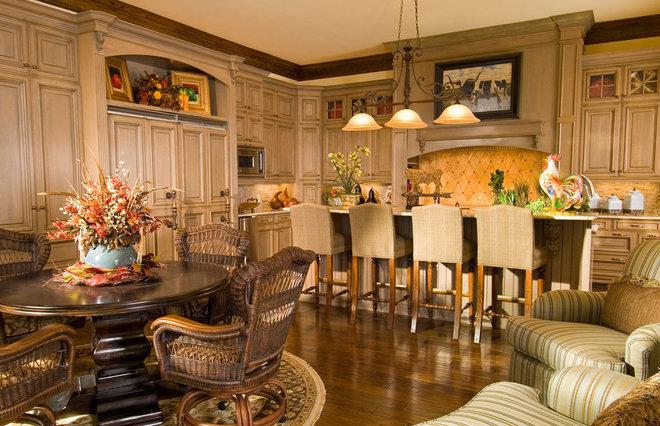 Mediterranean Kitchen by Wesley-Wayne Interiors, LLC