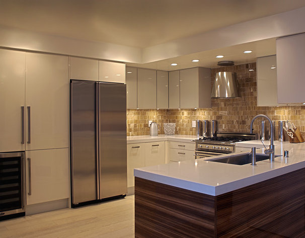 Contemporary Kitchen Fougeron Architecture