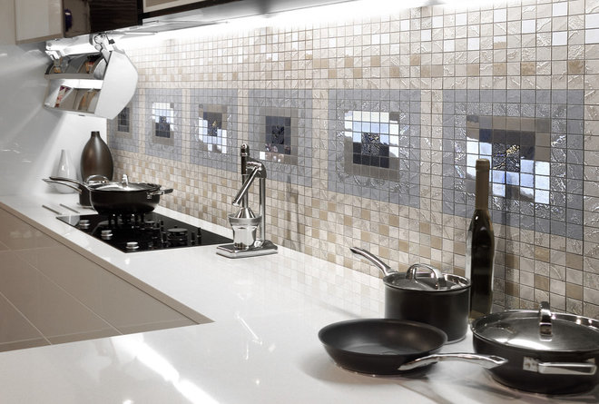 Eclectic Kitchen by Ceramiche Supergres