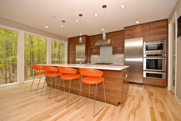 Contemporary Kitchen by Vision Homes & Remodeling