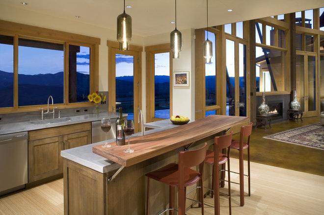 Contemporary Kitchen by David Johnston Architects
