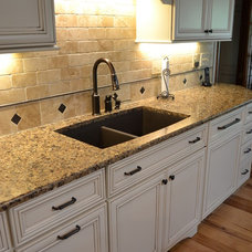 Traditional Kitchen by Woodland Designs, Inc.