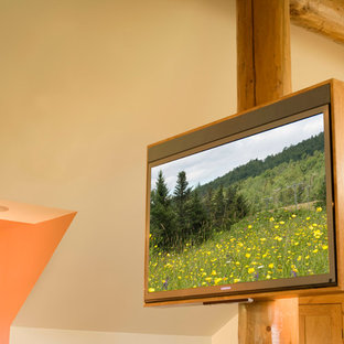 Framed Horizon Series Soundbar and TV in a Taconic Hills Residence