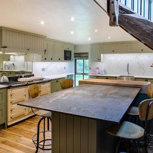 Framed Painted Shaker Kitchen