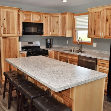 Francesville, IN. Haas Signature Collection. Natural Rustic Kitchen