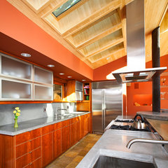 modern kitchen by J. Grant Design Studio