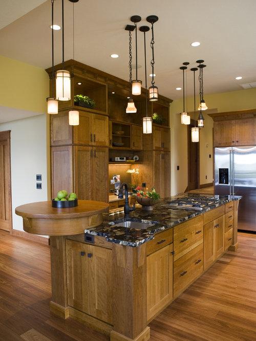 Frank lloyd wright inspired kitchen design ideas remodel for Frank lloyd wright kitchen ideas