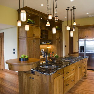 Superieur Craftsman Kitchen Ideas   Inspiration For A Craftsman Kitchen Remodel In  New York With Medium Tone. EmailSave. Frank Lloyd Wright Inspired Home