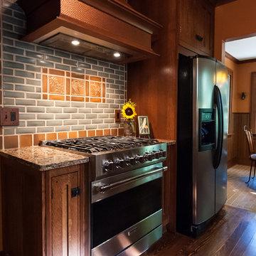 Frank Lloyd Wright Inspired Kitchen