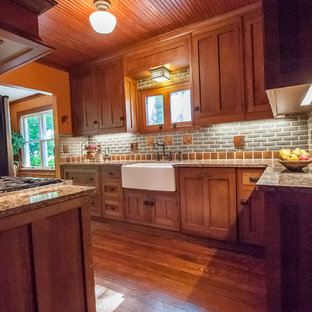 Frank Lloyd Wright Inspired Kitchen