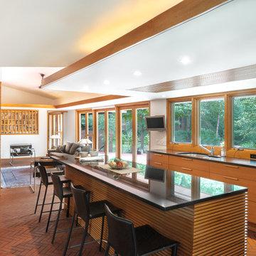 Frank Lloyd Wright Inspired Ranch