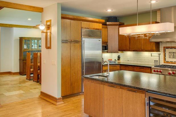 Craftsman Kitchen by SKP Design