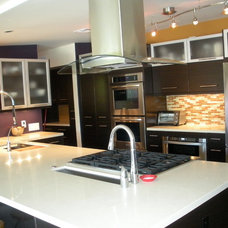 Contemporary Kitchen by Real Estate Management Services LLC